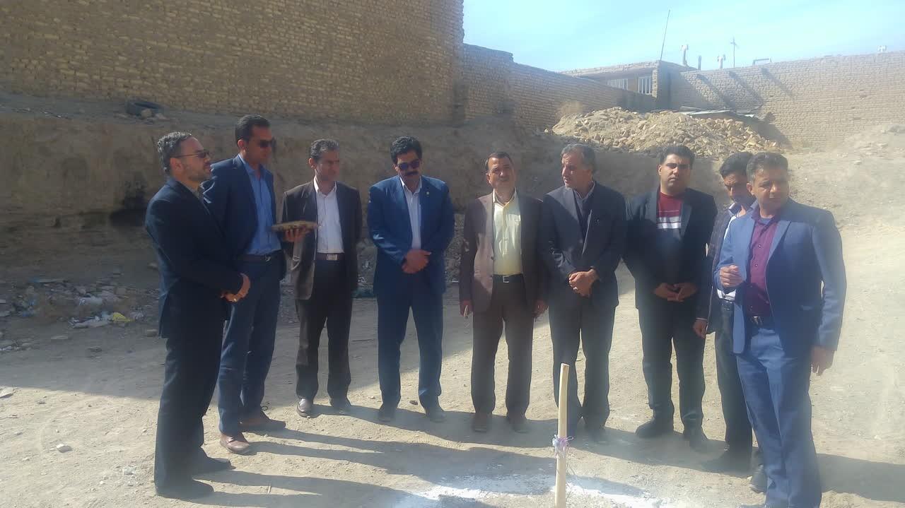 اداره کل نوسازی مدارس استان یزد - آغاز عملیات اجرائی ساخت مرکز تحقیقاتی فرهنگیان مروست