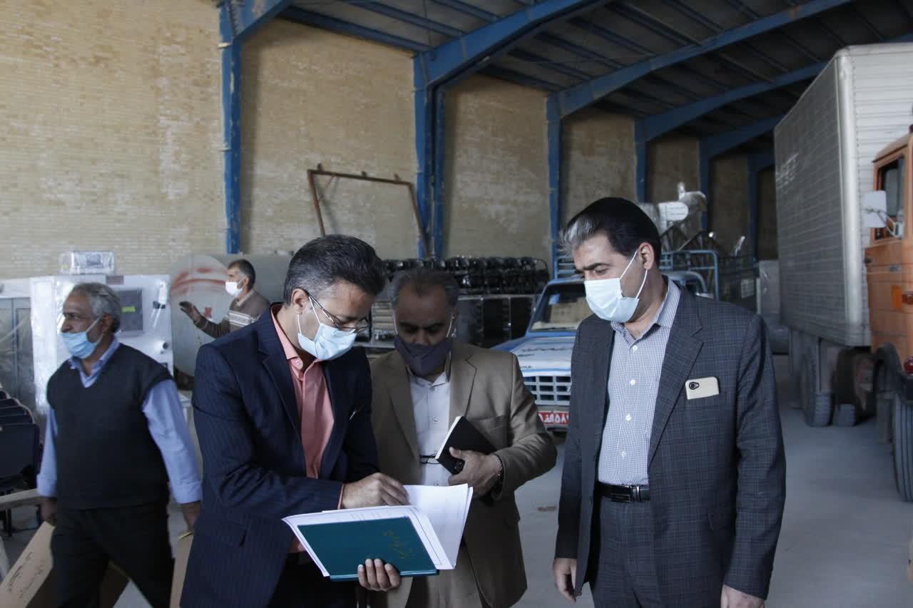 اداره کل نوسازی مدارس استان یزد - ارسال کاروان تجهیزات به هنرستانهای فنی حرفهای و کاردانش استان یزد به ارزش23 میلیارد ریال