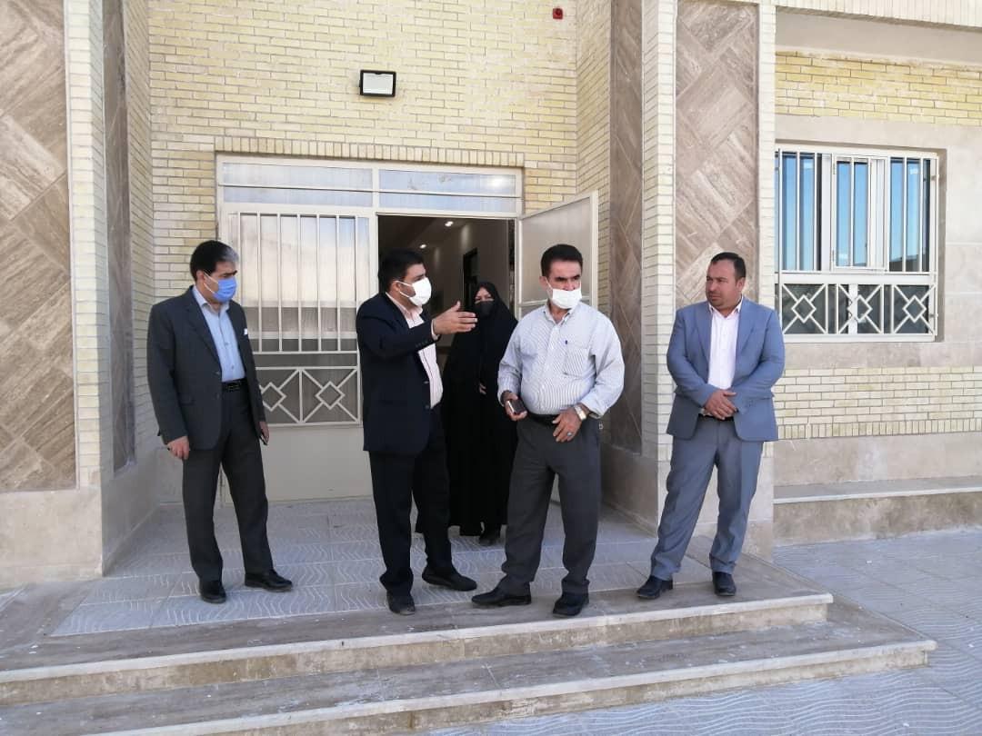 اداره کل نوسازی مدارس استان یزد - بازدید از آموزشگاه امام حسین (ع)