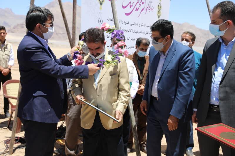 اداره کل نوسازی مدارس استان یزد - آیین آغاز عملیات اجرایی سه مرکز آموزشی در مهریز
