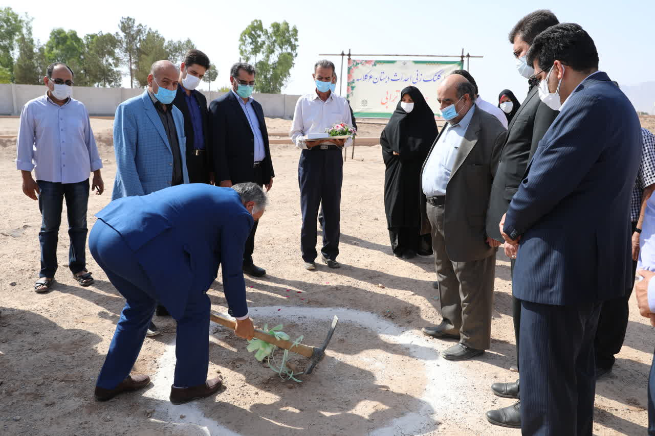 اداره کل نوسازی مدارس استان یزد - آغاز عملیات اجرائی ساخت دبستان 6 کلاسه حاج محمدکاظم ترابی در یزد