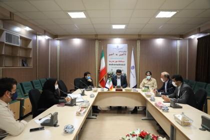 جلسه تعیین و هماهنگی شرایط اخذ تاییدیه های مدارس غیر دولتی