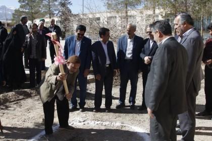 اداره کل نوسازی مدارس استان یزد - آغاز عملیات اجرائی ساخت آموزشگاه ۹ کلاسه مهریز