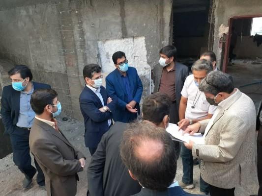 با حضور رئیس سازمان مدیریت استان از پروژهای در دست اجرا نوسازی مدارس بازدید شد.