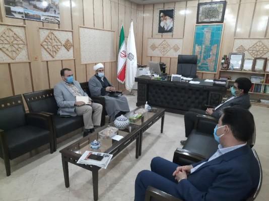 دیدار مدیرکل نوسازی مدارس استان یزد با مسئول بسیج دانش آموزی استان