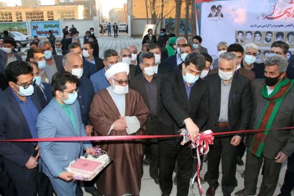 مدرسه شهید سردار سلیمانی در مجومرد اشکذر به بهره برداری رسید