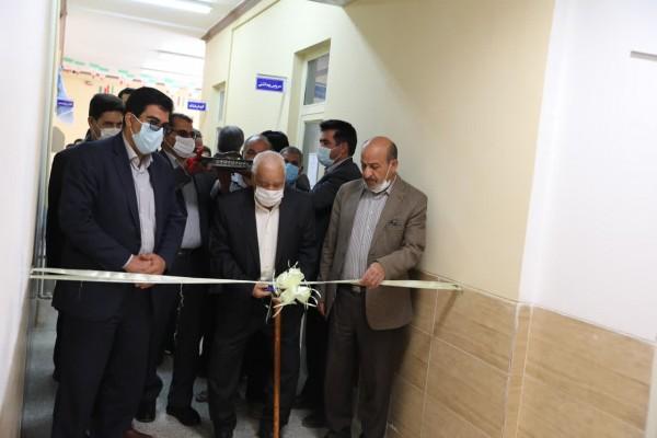 افتتاح پروژه ی خیّر ساز توسعه ی دبیرستان ریحانه روستای دهنو یزد