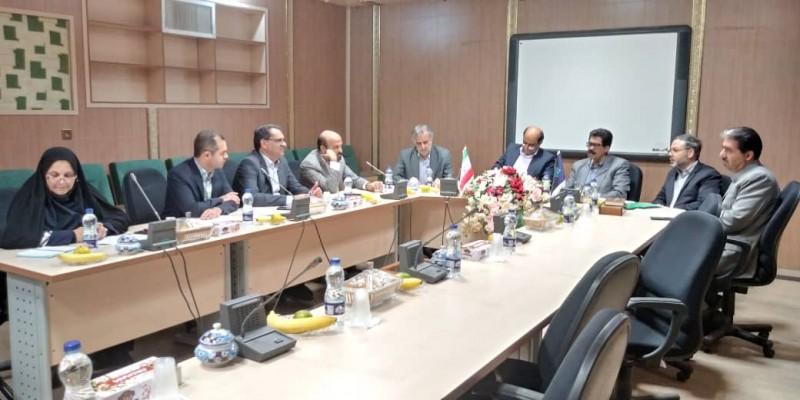 تشکیل جلسه کمیته عمران پروژه های خیری استان