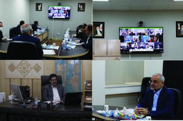 وزیر آموزش و پرورش با مدیران نوسازی کشور بصورت ویدئو کنفرانس دیدار نوروزی برگزار نمود