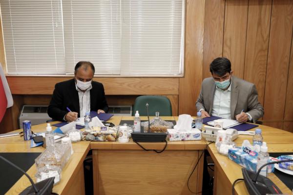 آیین امضای تفاهمنامه ساخت  14 مدرسه با مشارکت خیرین استان یزد