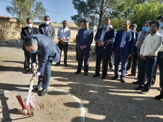 آغاز عملیات اجرائی آموزشگاه 9کلاسه خیری بلالی در مهریز