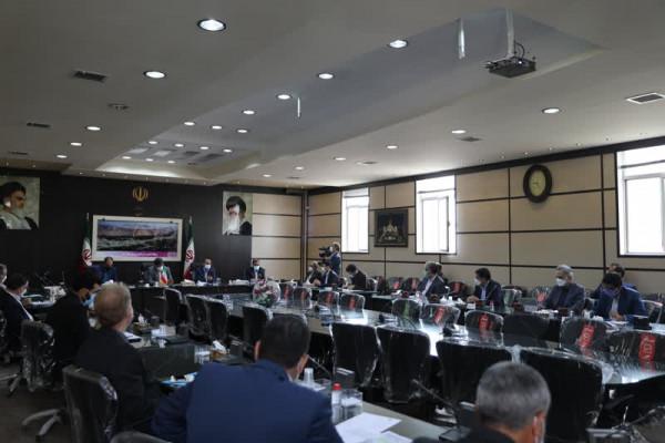 جلسه شورای اداری شهرستان تفت