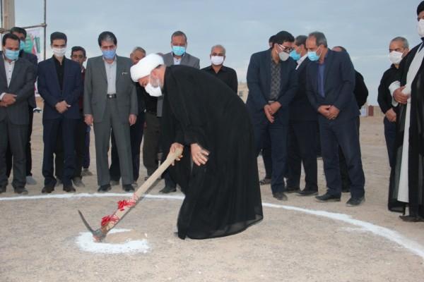 اغاز عملیات اجرائی دو مدرسه خیری در شهرستان ابرکوه یزد