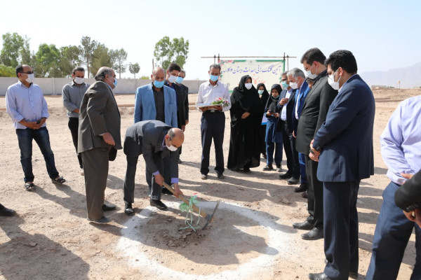 آغاز عملیات اجرائی ساخت دبستان 6 کلاسه حاج محمدکاظم ترابی در یزد