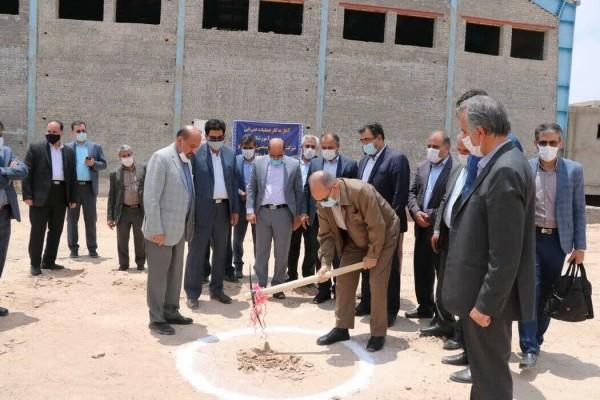عملیات احداث دومین مرکز آموزشی توسط چادرملو در اردکان آغاز شد