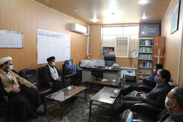دیدار مدیر کل نوسازی مدارس استان یزد با مدیر ستاد اقامه نماز استان یزد