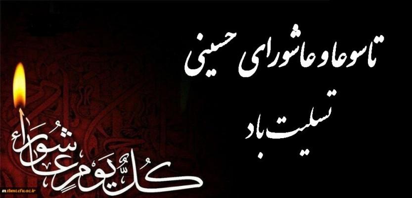 پیام تسلیت مدیرکل نوسازی مدارس استان یزد بمناسبت تاسوعا و عاشورای حسینی