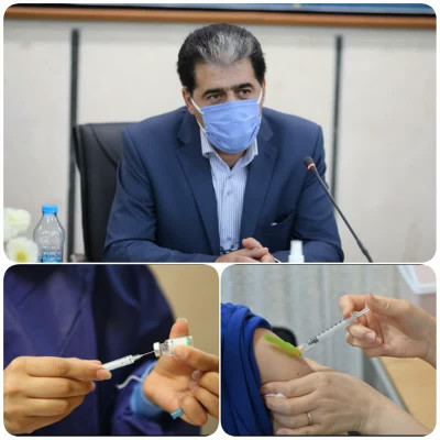 واکسیناسیون پرسنل اداره کل نوسازی، توسعه و تجهیز مدارس یزد انجام شد