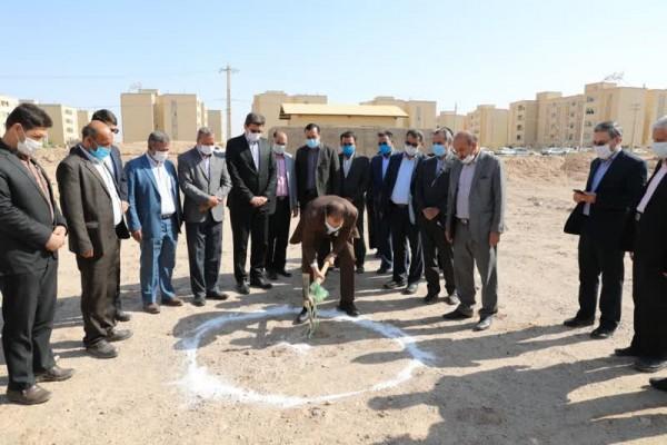 آغاز عملیات ساخت اموزشگاه الکترو برق مجمر در یزد