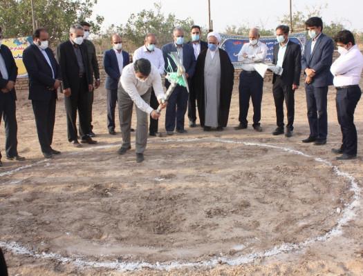 آیین افتتاح و شروع عملیات ساخت پروژه های آموزشی با حضور استاندار یزد درمیبد