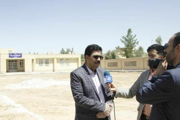 مدیرکل نوسازی مدارس استان در گفتگوی تلفنی با رادیو یزد