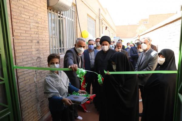 بهره برداری از نمازخانه مدرسه شهید اخوان رحیمی در زارچ