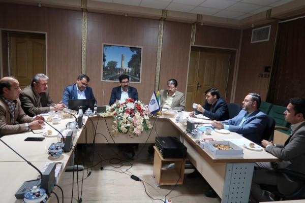 تشکیل جلسات جداگانه مدیران آموزش و پرورش شهرستانها ، مناطق و نواحی استان با مدیرکل نوسازی مدارس