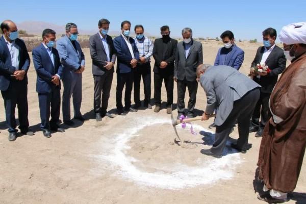 مراسم شروع عملیات اجرایی مدرسه ۱۲ کلاسه خیری حضرت زینب(س ) خاتم یزد با حضور مسئولین استان برگزار شد