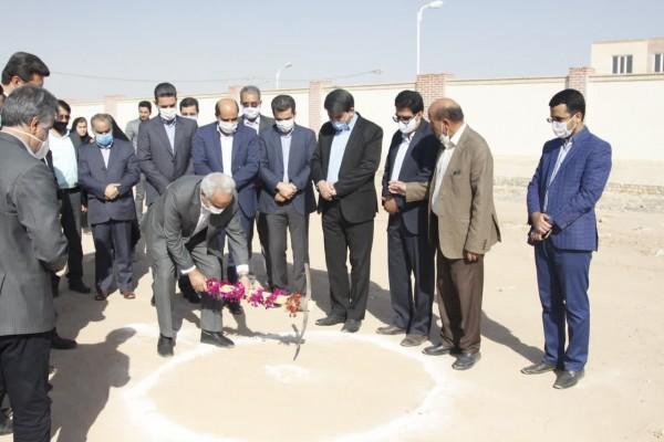 آغاز عملیات اجرائی ساخت مدرسه ۱۲ کلاسه خیری مشارکتی در یزد