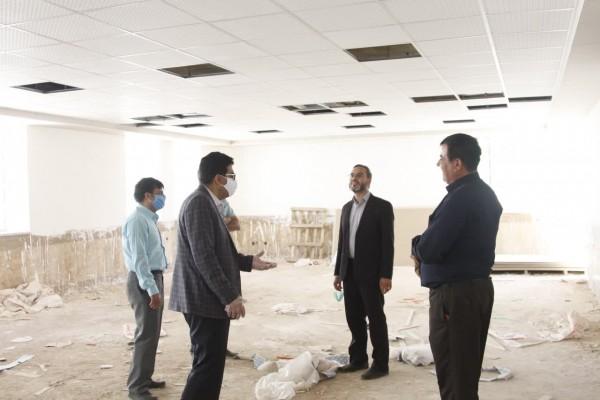 بازدید مدیرکل نوسازی مدارس استان یزد از روند اجرای پروژه مدرسه میرزا حسن واحدی در زارچ