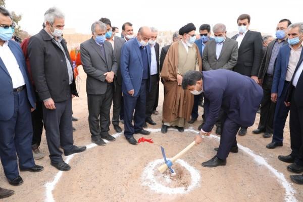 آغاز عملیات اجرائی ساخت مدرسه 6 کلاسه برادران پور رضا در یزد