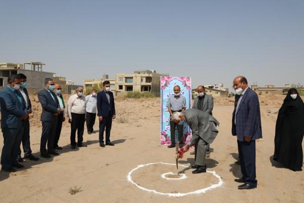 آغاز عملیات اجرائی ساخت مدرسه 12 کلاسه در یزد