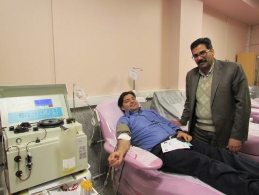 اهدای خون - اهدای زندگی