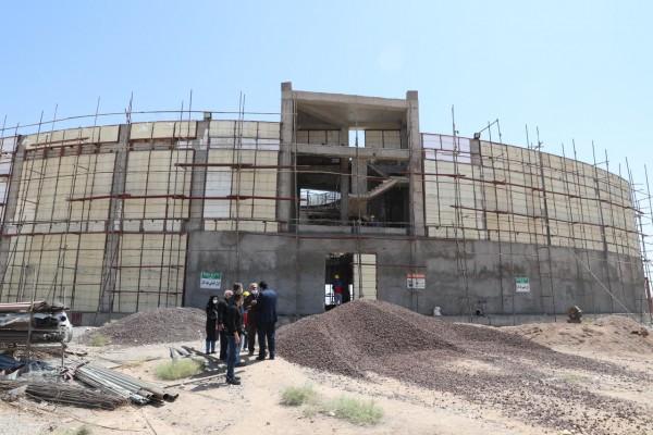 بازديد مديركل نوسازي مدارس استان یزد از پروژهای  درحال ساخت شهرستان های بافق و بهاباد