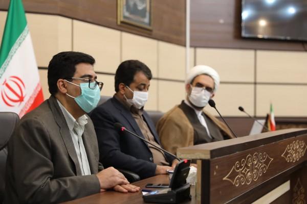 برگزاری جلسه شورای آموزش و پرورش شهرستان مهریز با حضور مدیرکل نوسازی مدارس استان
