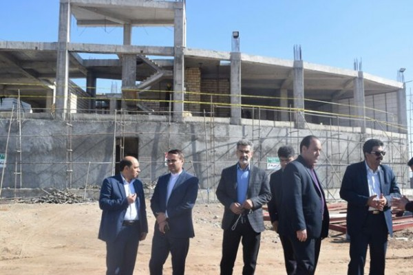 بازدید از پروژه های شهرستان بهاباد