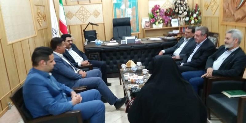 دیدار مدیر کل نوسازی مدارس استان یزد با مدیران آموزش و پرورش ناحیه 1و2 یزد